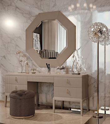 luxury modern dressing table mirror design 2018