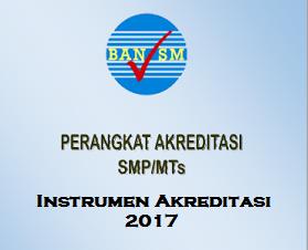 Bukti Fisik Akreditasi 8 Standar Pendidikan SMP/MTs 2017/2018