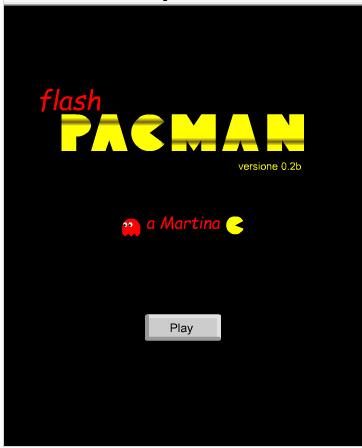 Halaman depan game pacman