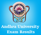 andhra university result 2016 check au results ug and PF Exams