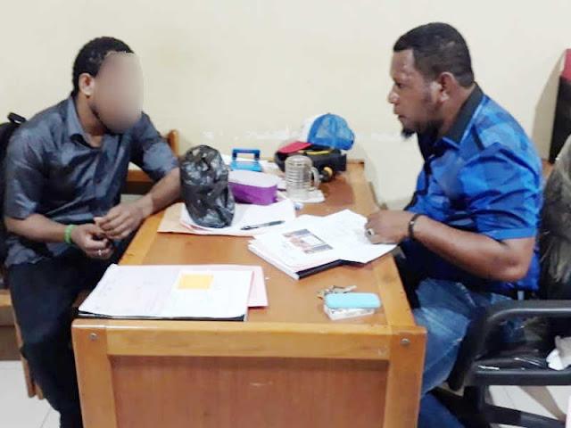 Polisi Serahkan Pelaku Pembuat Ballo di Pasar Youtefa ke Kejari Jayapura