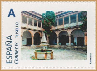 Sello personalizado del Claustro de la Parroquia de San Nicolás de Bari, Avilés