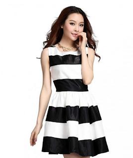 Model dress batik kebaya kombinasi elegan murah terbaru