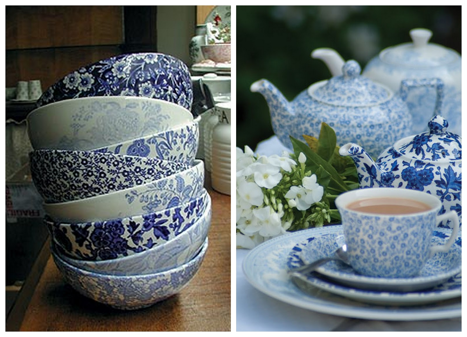 Eaton Square Burleigh Love For China Made In England