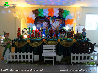 Decoração infantil Peter Pan