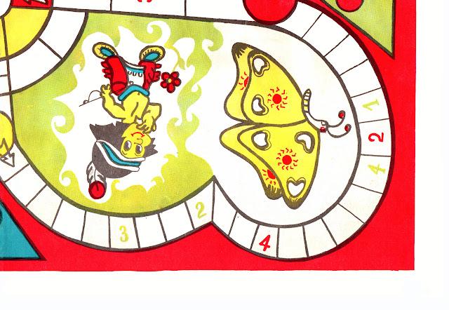 Настольная игра 90е Догони индейцы. Догони игра-ходилка СССР индейцы.