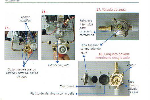 Trucos para optimizar mi hogar reparaci n calentador for Calentador saunier duval opalia no enciende