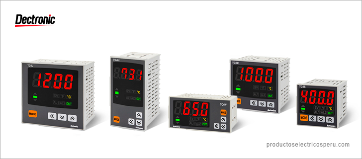 Controlador de temperatura Serie TC - Autonics Perú