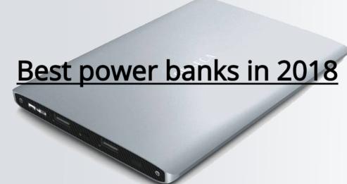 Best power banks in 2018