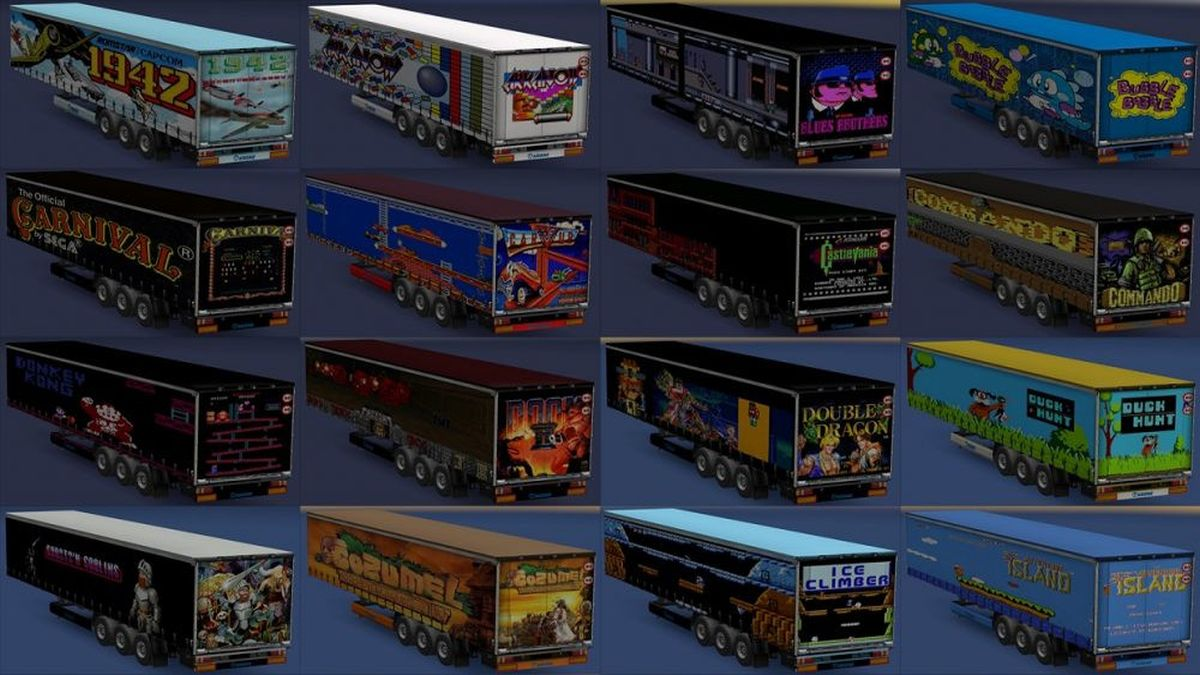 Trailers Pack Retro video game