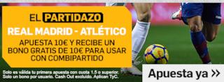 betfair promocion combipartido Real Madrid vs Atletico 29 septiembre