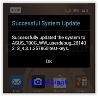 OTA update procedure all asus zenfone 2