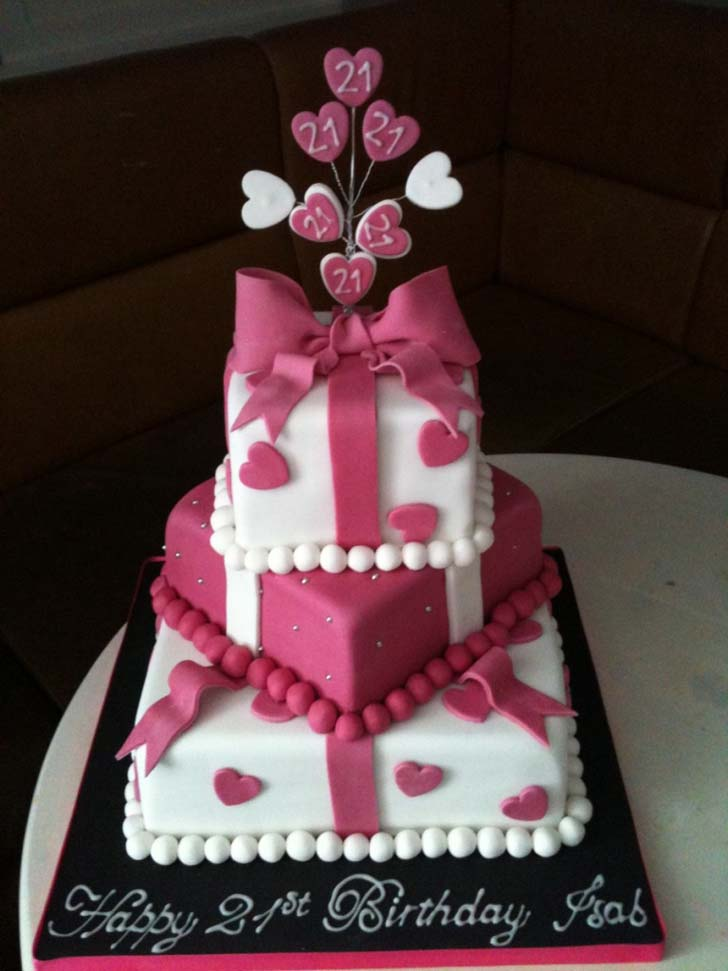 21st Birthday Cakes Cake Magazine