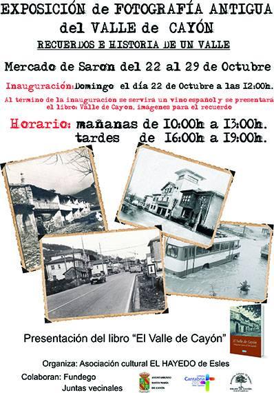 Exposición de Fotos Antiguas del Valle de Cayón