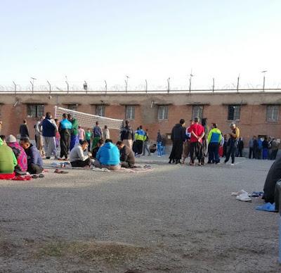 Death row inmates in Ghezel Hesar Prison, Iran