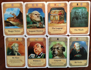Discworld Ankh Morpork game cards