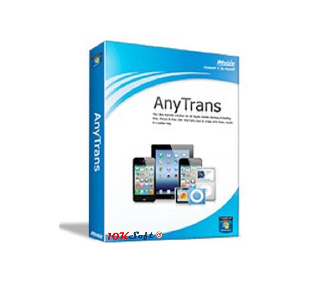 iMobie AnyTrans 6.0 Free Download