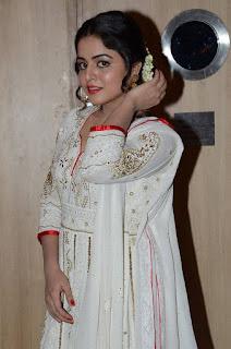 Actress Wamiqa Gabbi Stills in White Salwar Kameez at Nannu Vadili Neevu Polevule Audio Launch  0004
