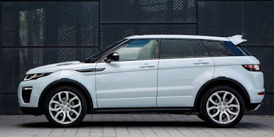 2017 Range Rover Evoque side view image