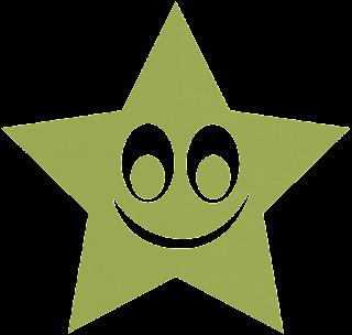 Clipart de Estrellas Sonriendo.