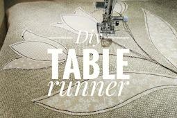 Diy: table runner