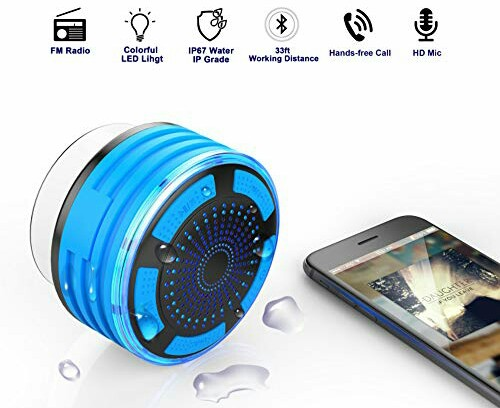 Cirlon Waterproof Music Speaker - Wireless FM Sound Box
