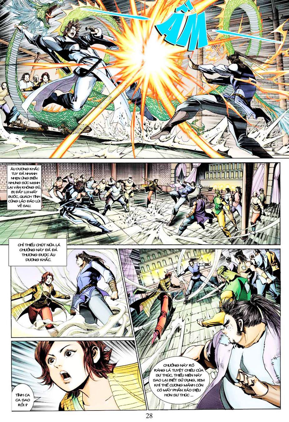 Anh Hùng Xạ Điêu anh hùng xạ đêu chap 35 trang 28