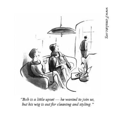 Crossdress Jokes: Crossdress Cartoons Part 1