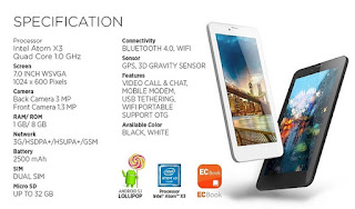 Harga dan Spesifikasi Evercoss Winner Tab S3 Tablet Murah