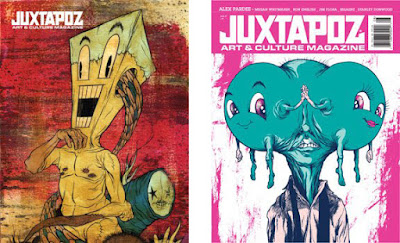 Juxtapoz covers