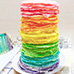 100 layer Challenge: All Natural Vegan Rainbow Pasta
