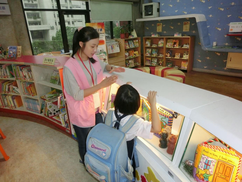 「幸福閱讀.學習相伴」全國首創圖書館陪讀─公益市集─公益市集