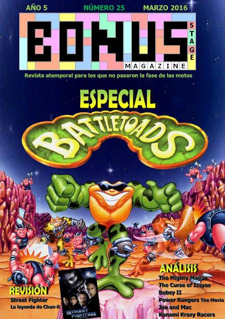 Bonus Stage Magazine #25 Especial Battletoads (25)