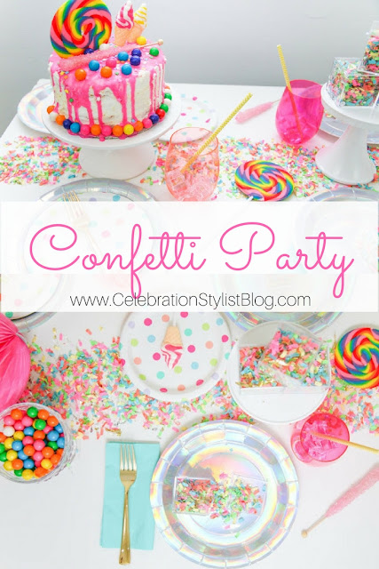Confetti Party by The Celebration Stylist