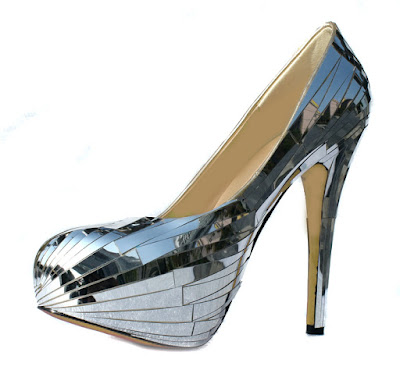 Tailor made Glittering Stiletto Heels Closed-toe Prom/Evening Shoes Kingston upon Hull