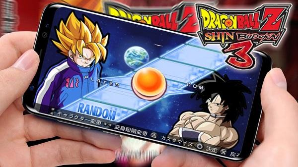 Dragon Ball Z Shin Budokai 3 PPSSPP