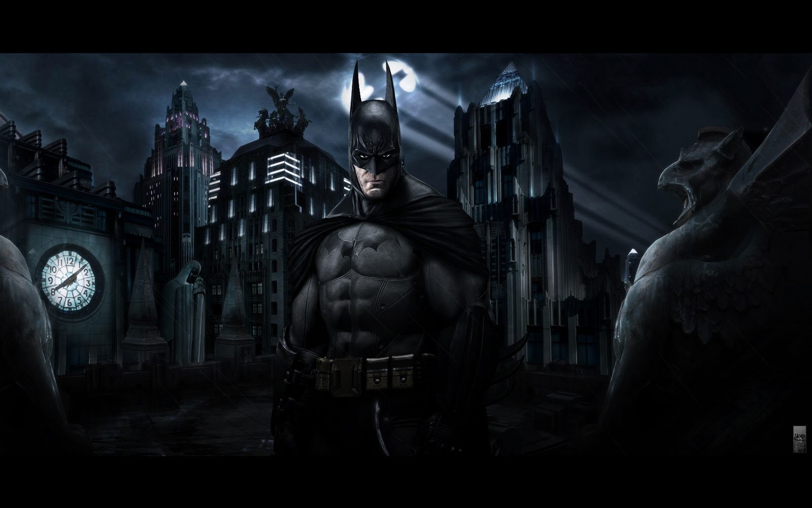 Batman Arkham Asylum Wallpaper: Free Download Wallpaper