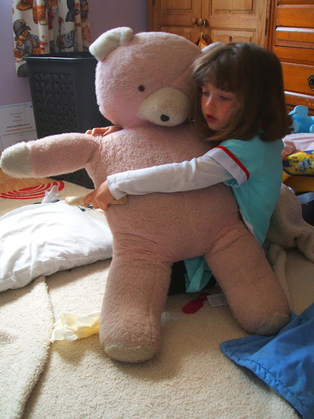 My Sunday Photo 15th May: Big Ted's Operation