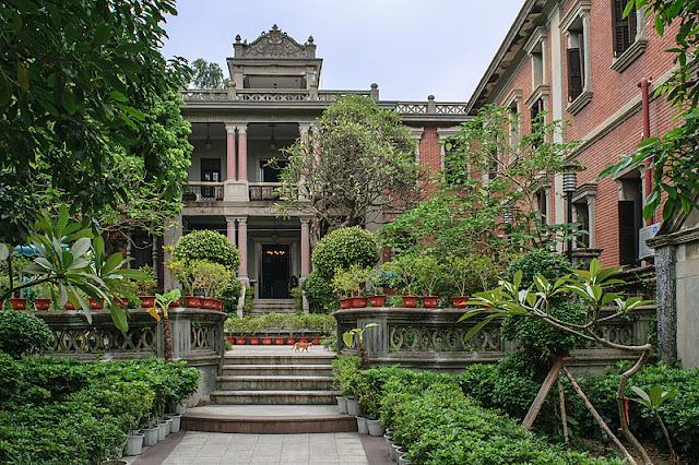 Villa coloniale sur l'île de Gulangyu