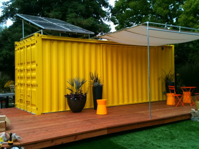 Shipping Container Cabins, Homes and Buildings by HyBrid Architecture 16