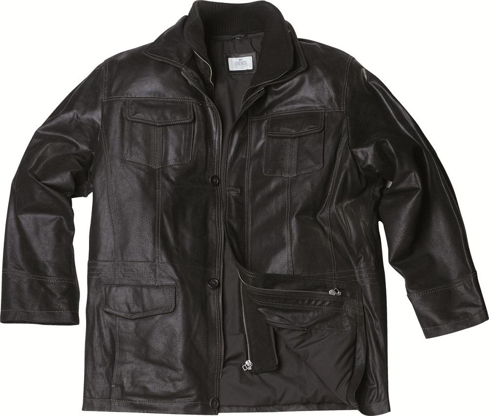 touteslestailles xxl allsize veste en cuir de mouton 3. Black Bedroom Furniture Sets. Home Design Ideas