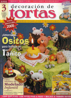 Revista : Decoración de Tortas n.1