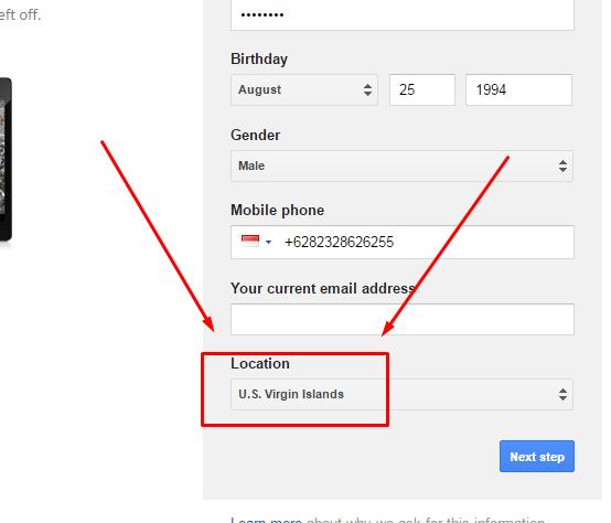 1. Cara mendaftar email untuk daftar adsense