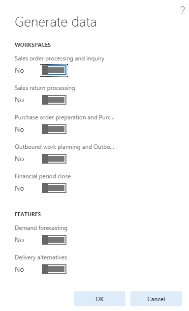 Demo data module in Dynamics 365 for FO #Dyn365FO - Finance and