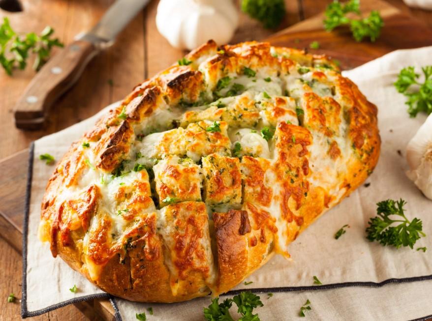 Garlic Apart Bread
