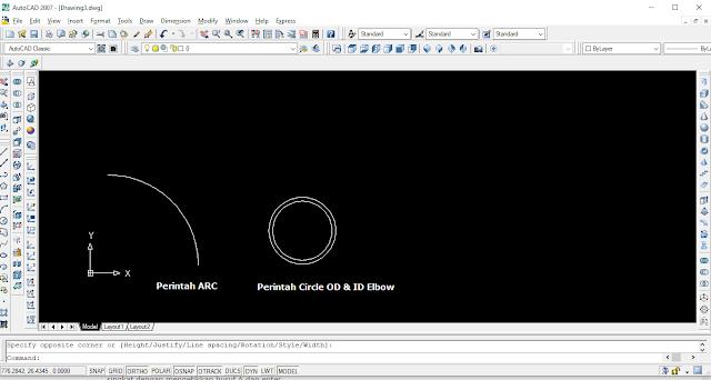 Menggambar Software Auto cad
