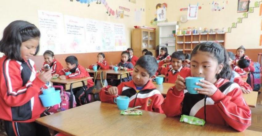 Qali Warma brinda servicio alimentario a más de 167 mil niñas y niños de Puno - www.qaliwarma.gob.pe