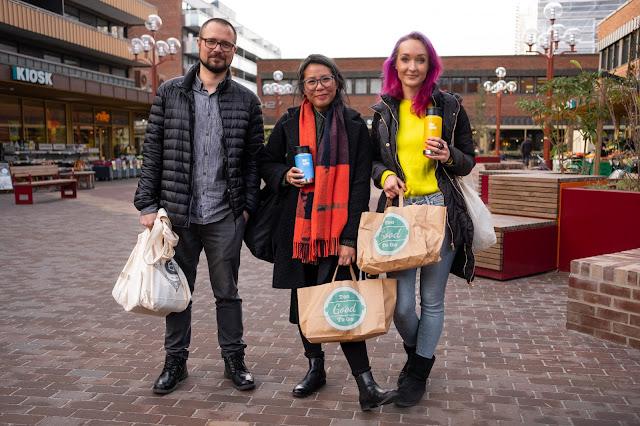 Trioen i Be:Eco reddet overskuddsmat med Too Good To Go fra Scandic hotell, Grensen
