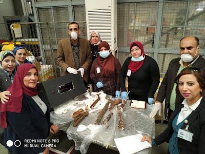 Τμήματα μούμιας ανακαλύφθηκαν σε αποσκευές επιβάτη στο αεροδρόμιο του Καΐρου