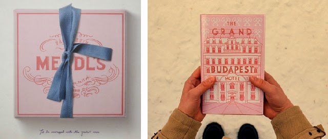 Grand Budapest Hotel - Mendl's box and book